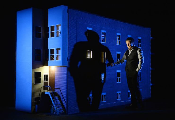 A scene from Robert Lepage's '887' / Courtesy of LG Arts Center