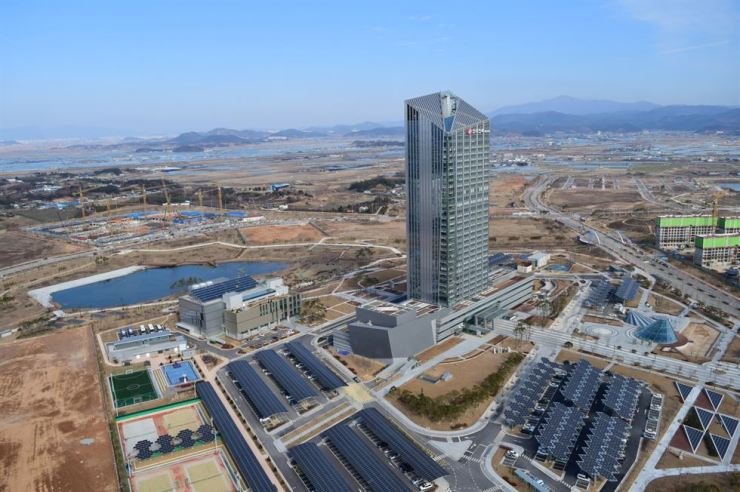 Korea Electric Power Corp. (KEPCO) headquarters in Naju, South Jeolla Province / Courtesy of KEPCO