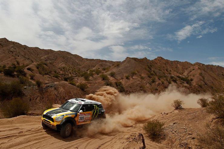A competitor in an earlier Dakar Rally. Courtesy of Amaury Sport Organization