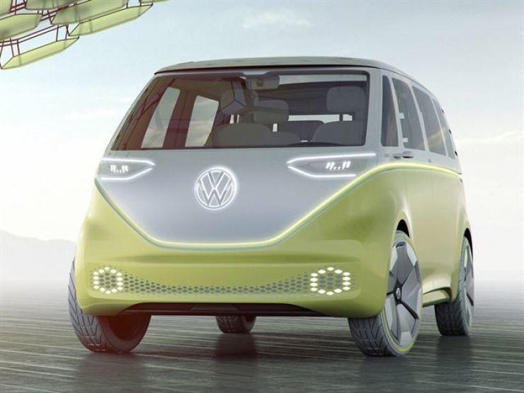 A concept image of Volkswagen's electric minivan I.D. Buzz / Korea Times fille