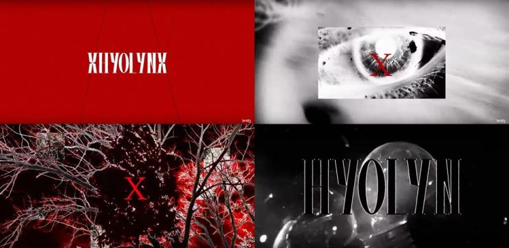 The preview of K-pop artist Hyolyn's new music project 'xhyolynx.' Captured from YouTube