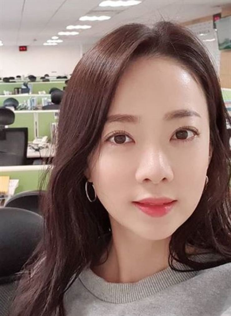 KBS news presenter Park Eun-young will tie the knot with a startup CEO in September. Capture from Park's Instagram