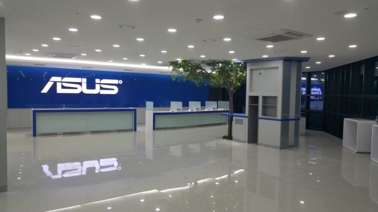 An ASUS after-sales service center in Yongsan, central Seoul / Courtesy of ASUS