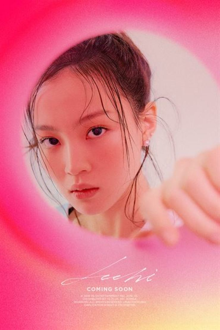 Singer Lee Hi has been tuning up for a comeback. Courtesy of YG Entertainment