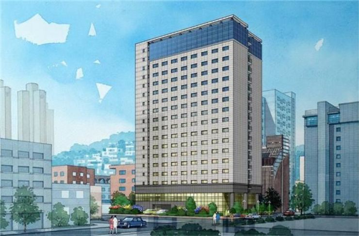 An image of the youth housing to be set up by remodeling Benikea Premier Hotel Dongdaemun. / Courtesy of Seoul Metropolitan Government