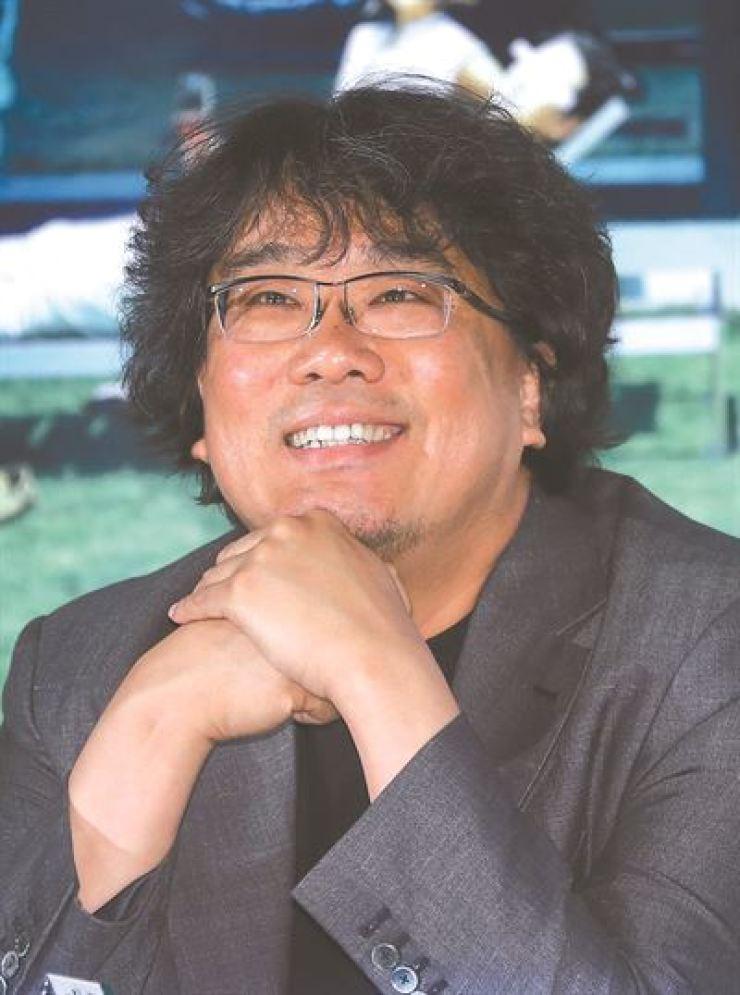 Bong Joon-ho. Yonhap