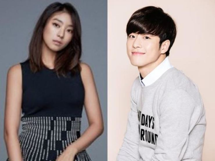 Yoon Bo-ra, left, and FeelDog. Courtesy of their agencies