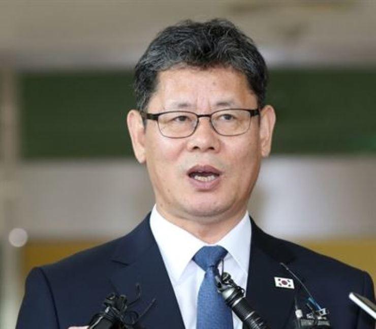Unification Minister Kim Yeon-chul