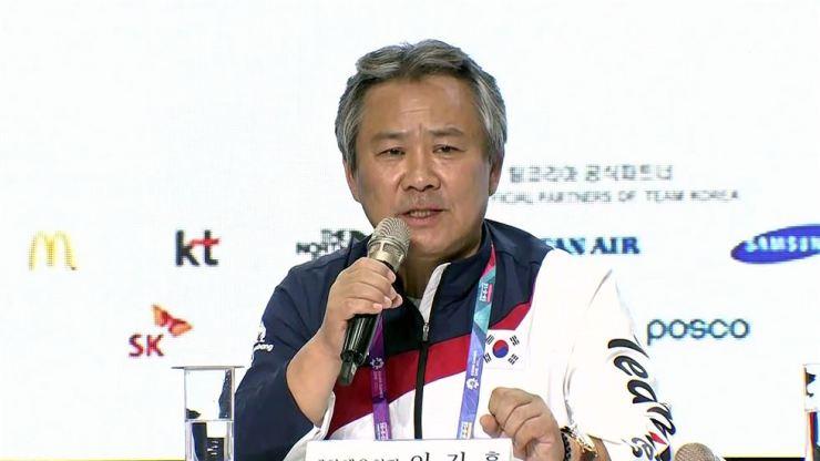 Korean Sport & Olympic Committee President Lee Kee-heung. Korea Times file
