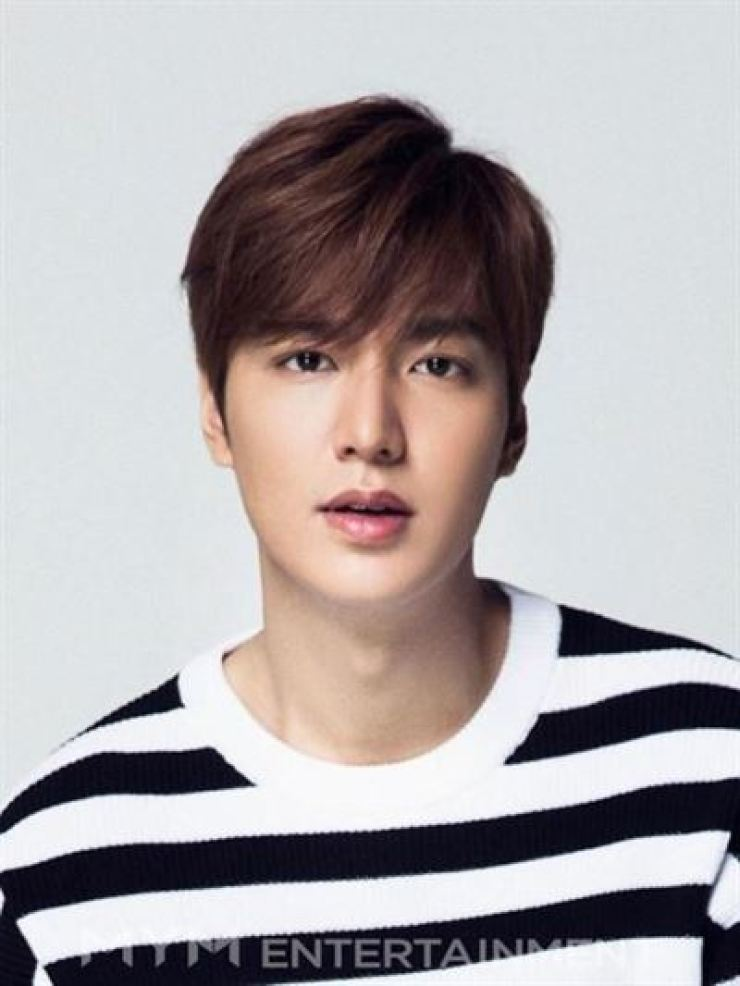 Actor Lee Min-ho will star in a new TV series written by Kim Eun-sook. Courtesy of MYM Entertainment