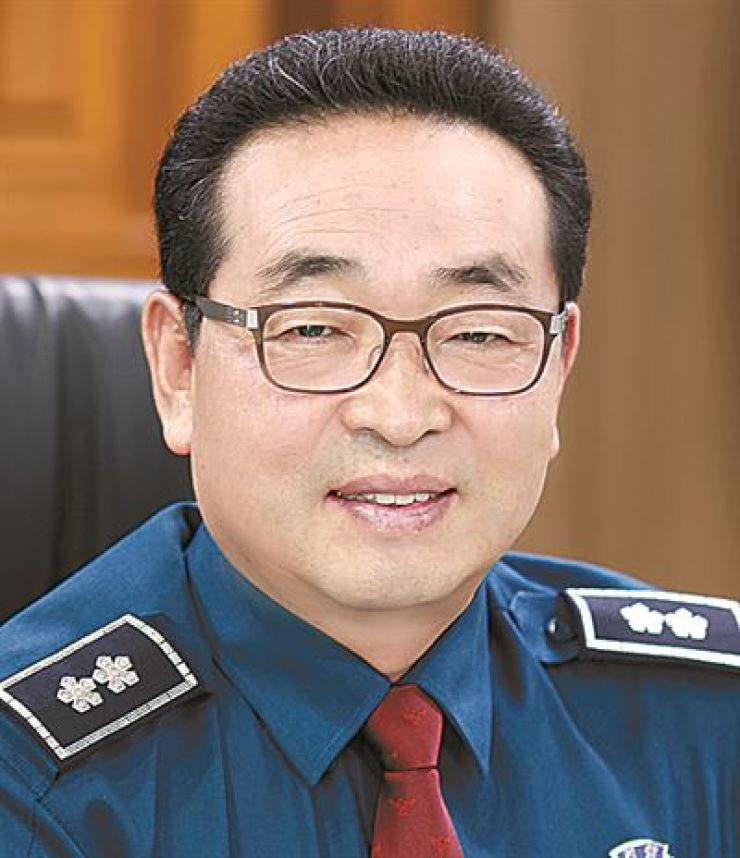 Won Kyung-hwan, the commissioner of the Seoul Metropolitan Police Agency