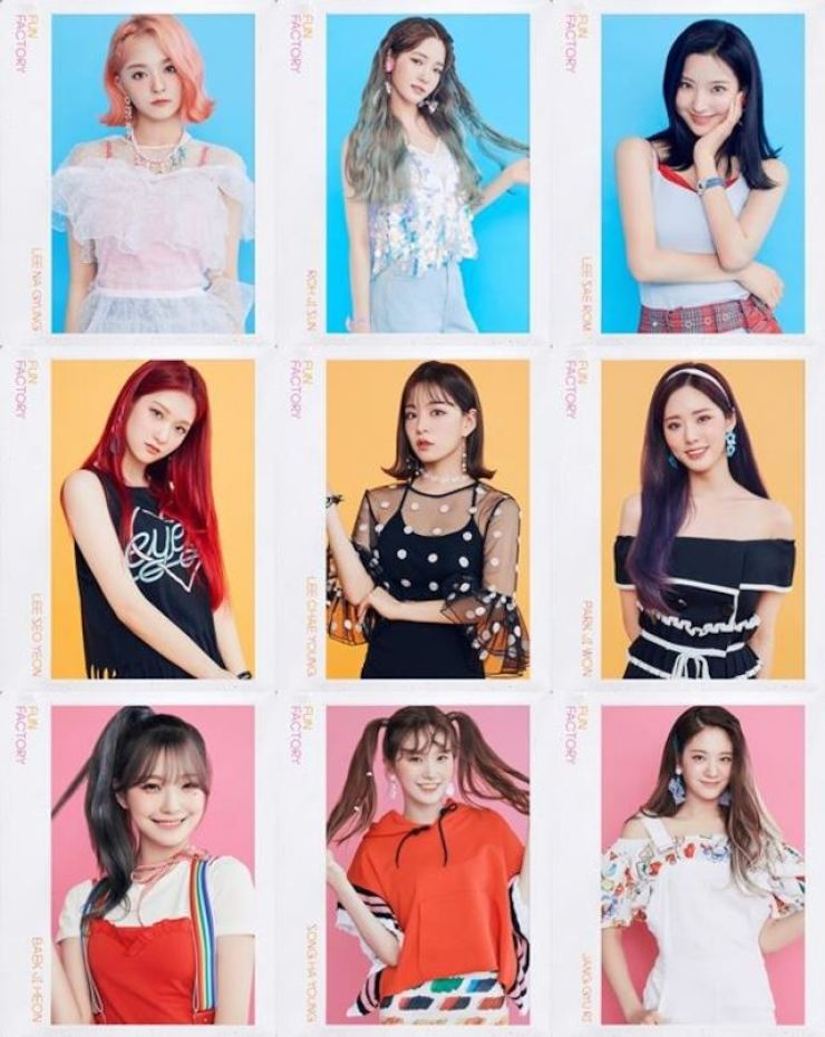 The teaser images of girl group fromis_9 / Courtesy of Off the Record Entertainment