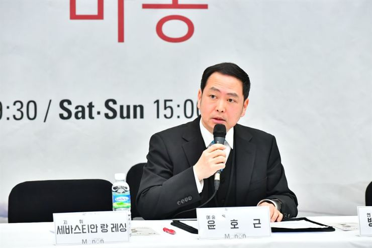 Yun Ho-gen, artistic and generation director of the Korea National Opera (KNO). Courtesy of KNO