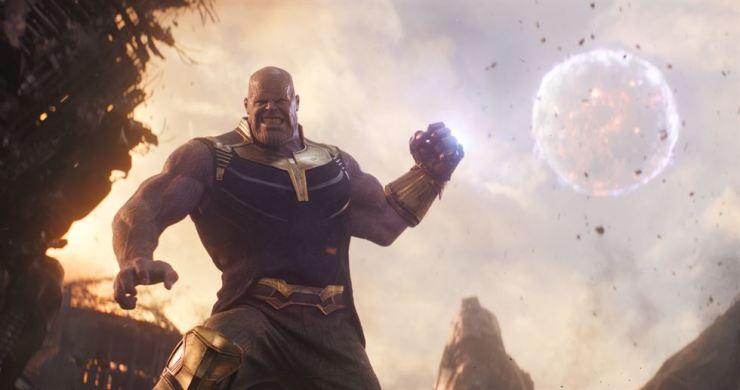 Thanos from 'Avengers: Endgame'