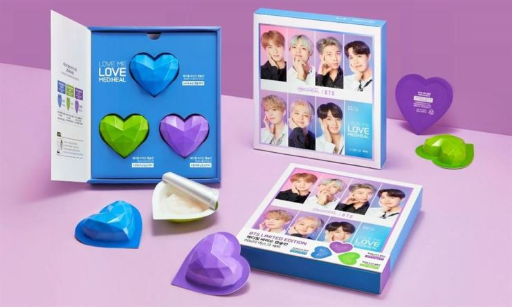 L&P Cosmetics' limited edition product 'Mediheal Love Capsule in Mask' / Courtesy of L&P Cosmetics
