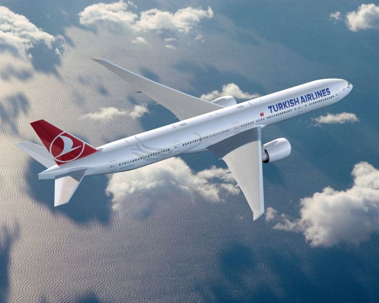 Turkish Airlines Boeing B777-3ER. Courtesy of Turkish Airlines