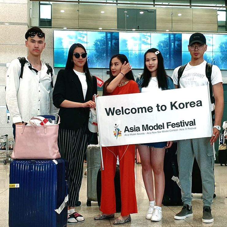 Some 80 models from 25 Asian countries arrived in Korea last week to participate in the FACE of ASIA contest in the 14th Asia Model Festival (AMF). The event is scheduled for June 7 at the Olympic Hall in Olympic Park, Seoul. They began a boot camp at the Ramada Encore Seoul Dongdaemun on May 23.