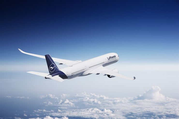 Lufthansa provides daily flights between Incheon and Munich via A350. Courtesy of Lufthansa