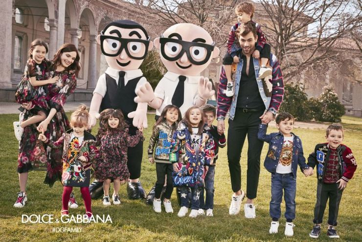 Dolce & Gabbana's #DGFamily meme campaign. Courtesy of Interfashion Planning
