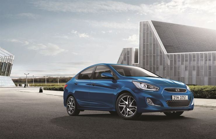 The 2018 Hyundai Accent / Yonhap