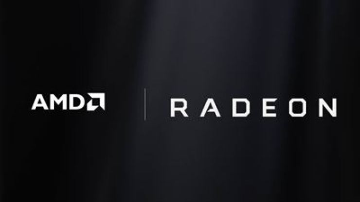 The logo for AMD's Radeon graphics technology. Samsung Electronics said Monday it has forged a partnership with AMD to use its graphics technology in developing its next-generation mobile processors. / Courtesy of Samsung Electronics