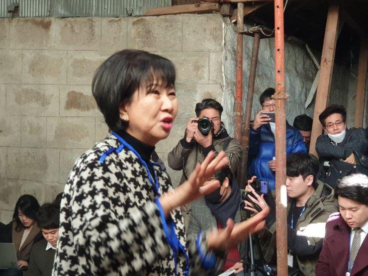 Rep. Sohn Hye-won / Korea Times file