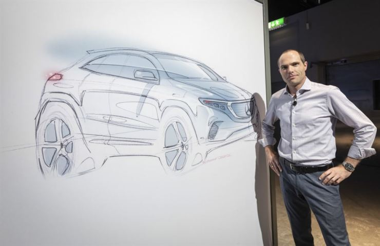 Mercedes-Benz Exterior Design Director Robert Lesnik / Courtesy of Mercedes-Benz