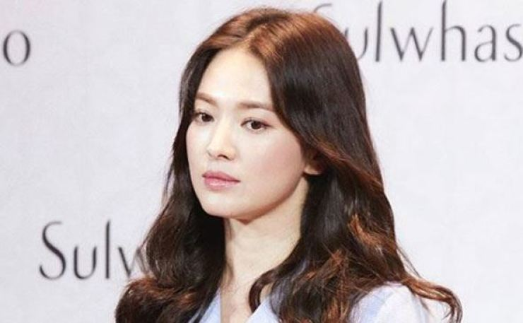 Actress Song Hye-kyo. Capture from Song's Instagram