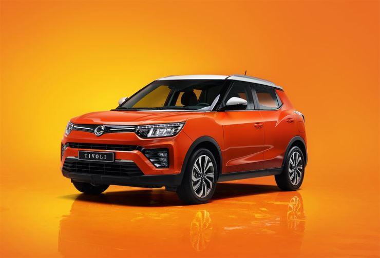 SsangYong Motor's Tivoli facelift / Courtesy of SsangYong Motor