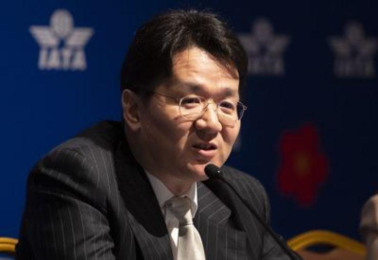Cho Won-tae, Chairman of Hanjin Group and Korean Air