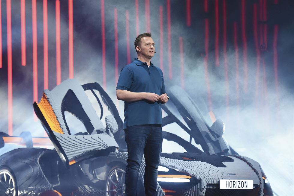 'The Forza Horizon 4' video game is demonstrated by players during the Xbox press conference at the Microsoft Theater prior to the E3 expo in Los Angeles, California, USA, June 10, 2018. EPA-Yonhap