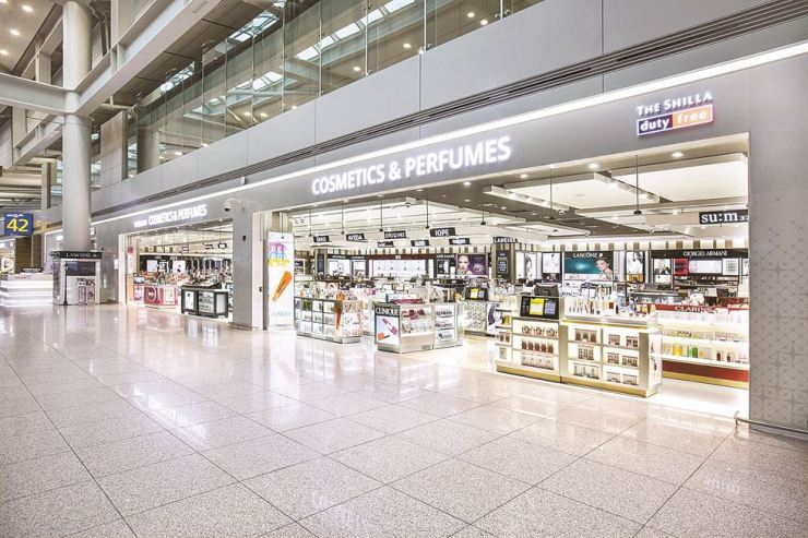 The Shilla Duty Free shop at Incheon International Airport Terminal 1 / Korea Times file
