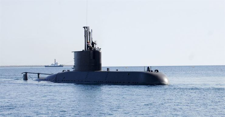 South Korean Navy's Na Dae Yong submarine, an upgraded version of the Chang Bogo-I class attack submarine. Yonhap