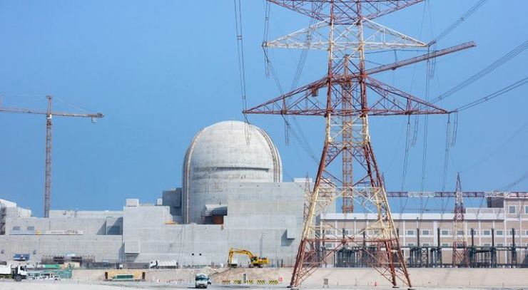 The Barakah-3 nuclear plant in the UAE. nucnet.org
