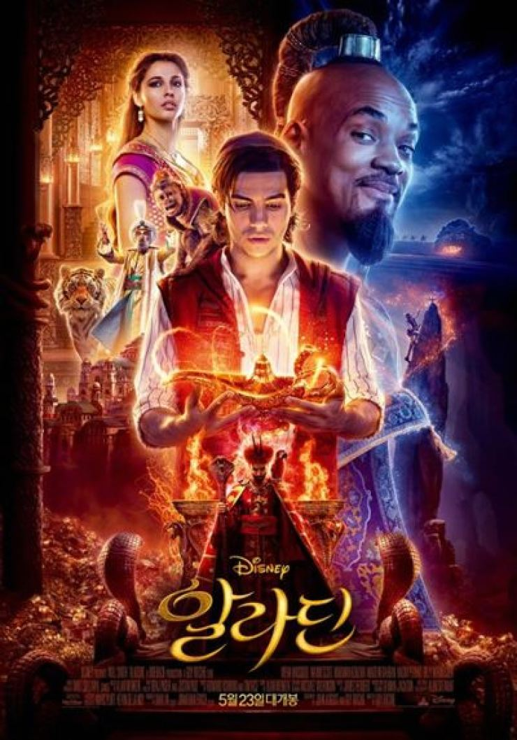 More than 3.4 million tickets have been sold to see Disney's 'Aladdin' as of Saturday. Courtesy of the Walt Disney Company Korea