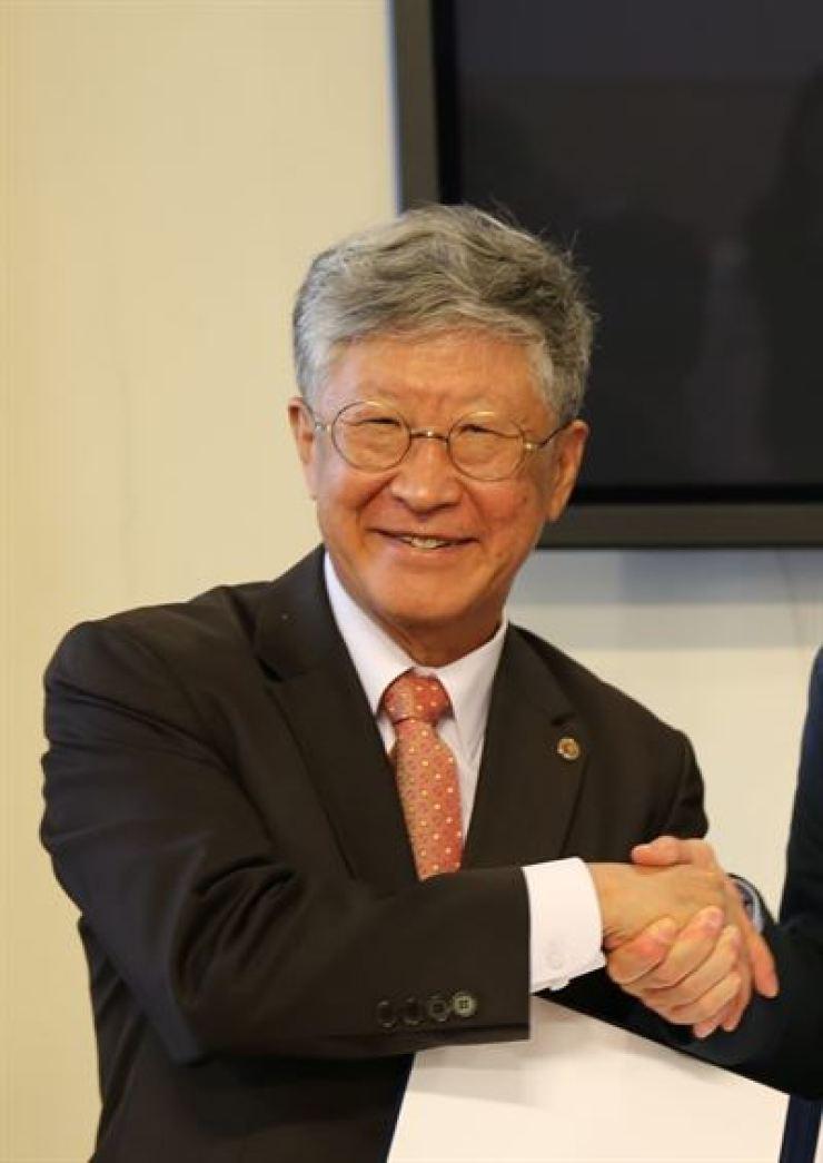 Kim Doo-chul, president of Institute for Basic Science