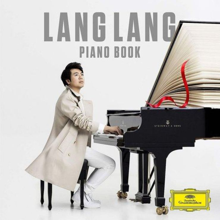 Pianist Lang Lang's latest album cover image. Courtesy of Universal Music Group and Deutsche Grammophon