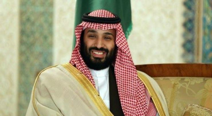 Crown Prince Mohammed bin Salman of Saudi Arabia. Yonhap
