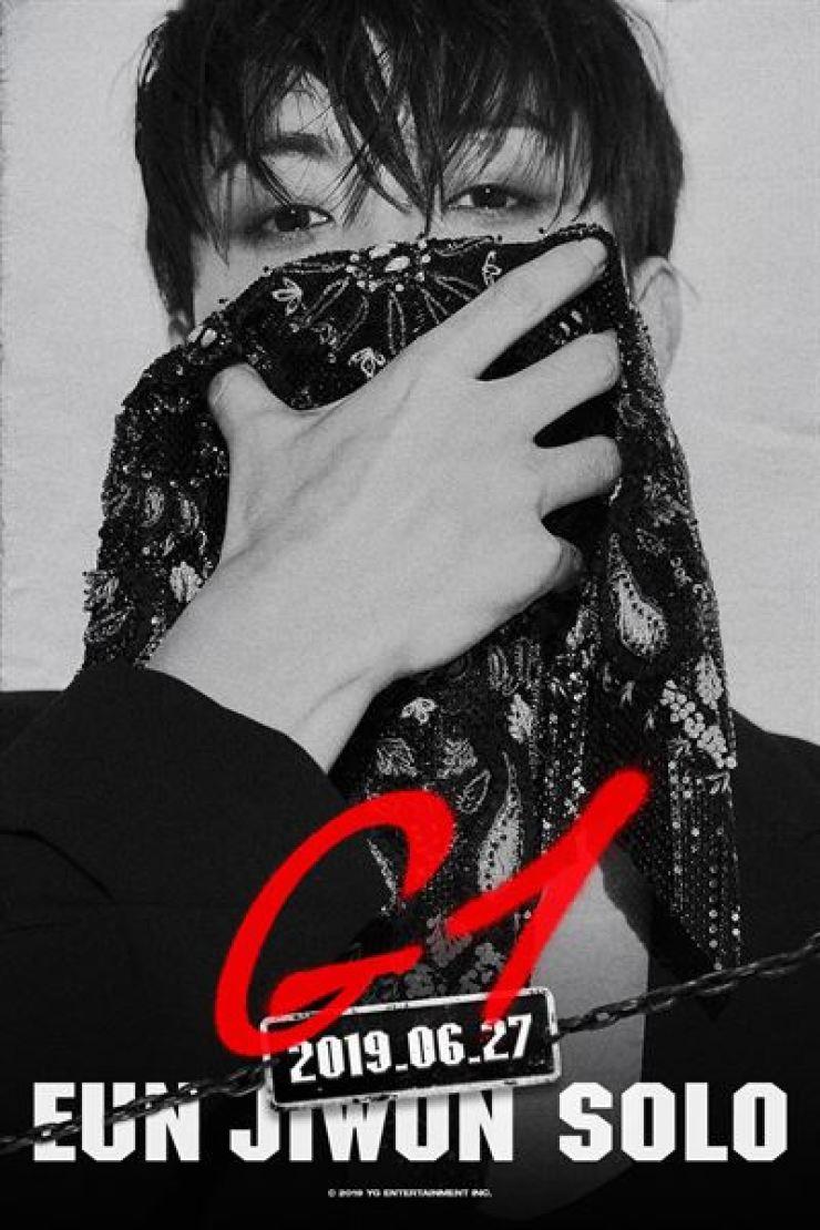 A teaser photo of singer Eun Ji-won's solo album. Capture from Facebook