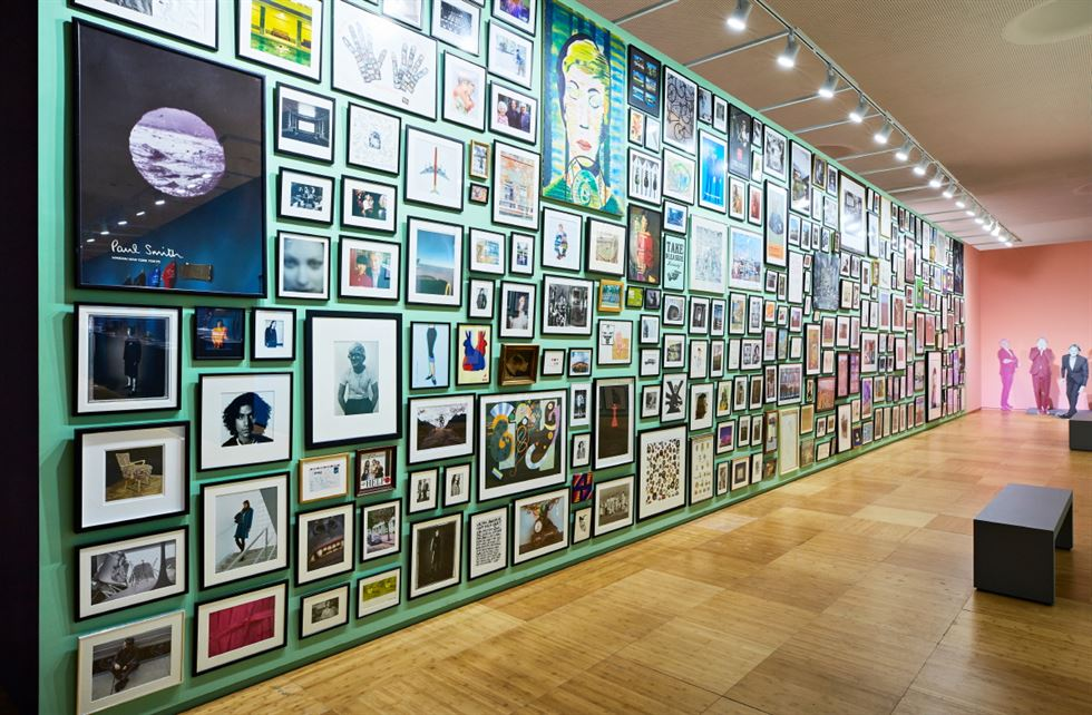 A recreated version of Paul Smith's office in Covent Garden, London, is on show at the special exhibition 'My Name is Paul Smith' at the DDP Design Museum until Aug. 25. Courtesy of GIC Cloud