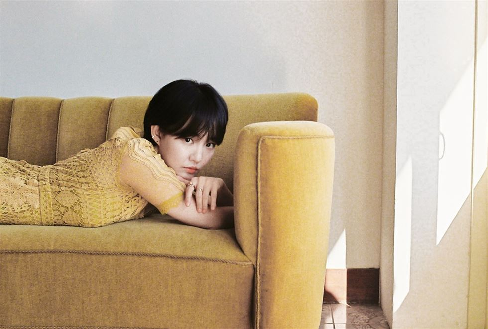 Singer Younha will release her fourth new single in July after a year and seven month hiatus. / Courtesy of C9 Entertainment