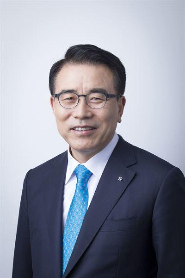Shinhan Financial Group Chairman Cho Yong-byoung