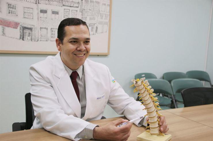 Breno Frota Siqueira, Brazilian orthopedic surgeon /Courtesy of Wooridul Spine Hospital