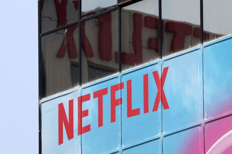 The Netflix logo is seen on their office in Hollywood, Los Angeles, Calif., U.S. July 16, 2018. Reuters