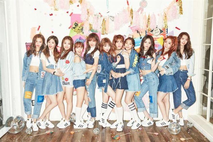 The original members of I.O.I. Courtesy of Mnet