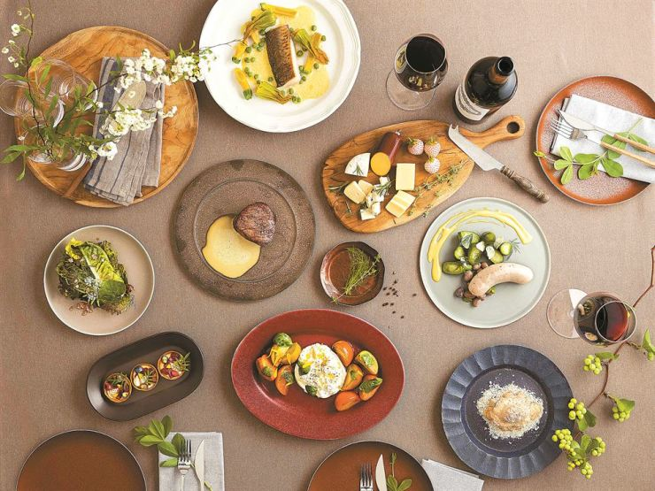 Festa by mingoo seeks to offer an urban green dining concept. / Courtesy of Banyan Tree Club and Spa Seoul