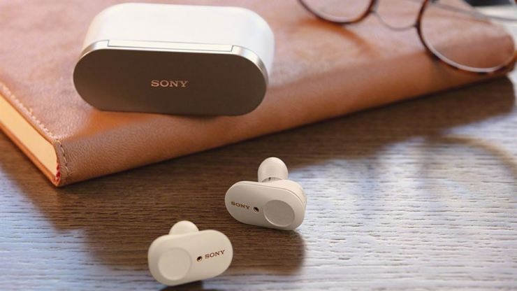 Seen above is Sony's WF-1000XM3 noise-canceling earbuds, which the company planned to release in Korea through a launching event on Thursday. Sony Korea canceled the event amid the growing anti-Japan sentiment among Korean consumers after Japan's export curbs on high-tech materials to Korea. Courtesy of Sony