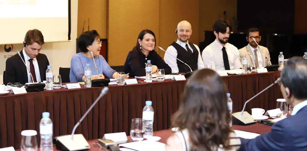 The 2019 Culture Communication Forum (CCF) concluded Tuesday at the Grand Hyatt Seoul. Courtesy of CICI