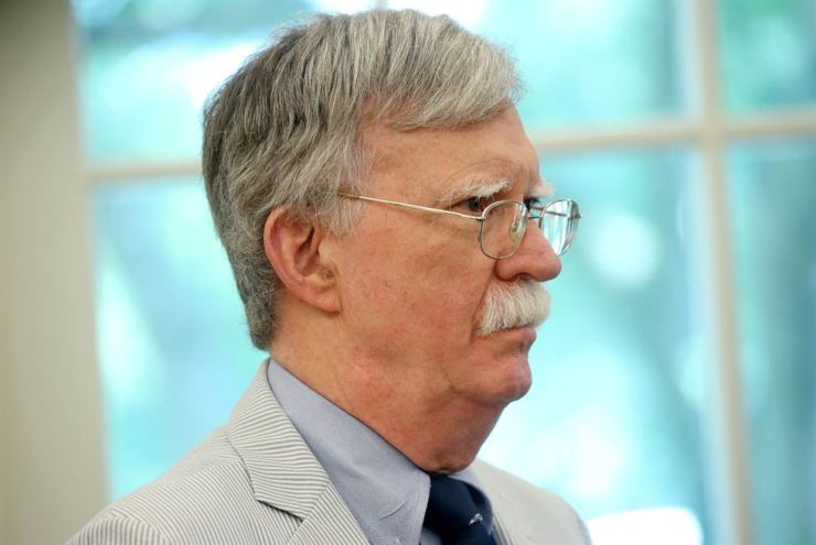 Trump's top national security adviser John Bolton will be in Seoul Tuesday to discuss urgent bilateral issues. Yonhap