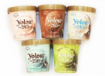 Halo Top's ice cream products / Courtesy of Halo Top Korea